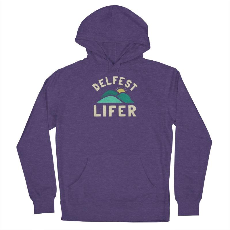 Delfest Lifer Men's Pullover Hoody by troublemuffin's Artist Shop