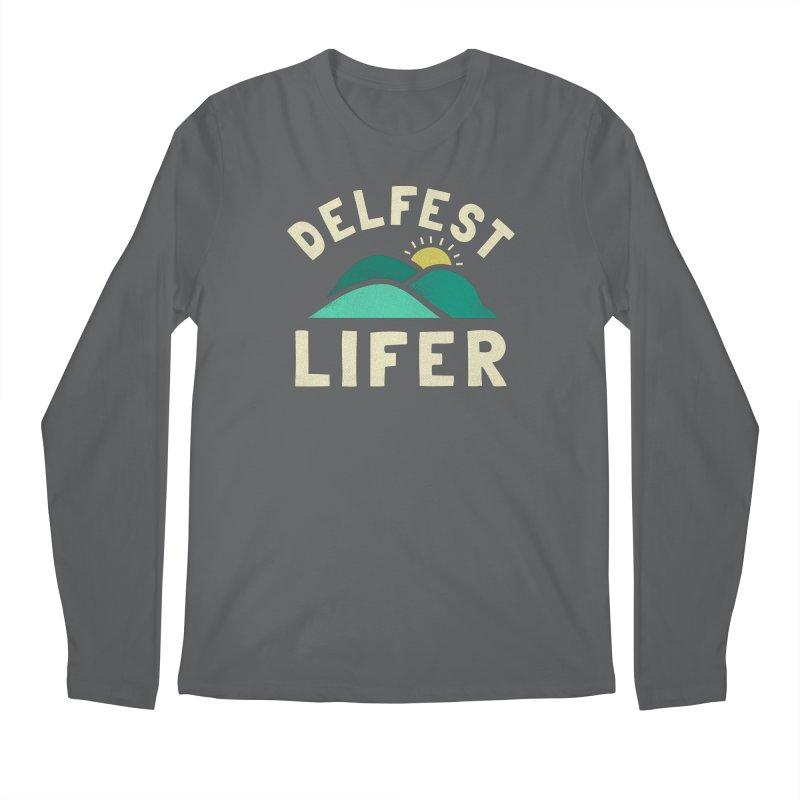 Delfest Lifer Men's Longsleeve T-Shirt by troublemuffin's Artist Shop
