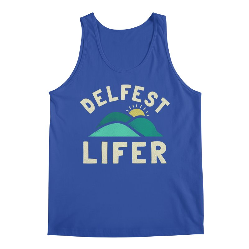 Delfest Lifer Men's Tank by troublemuffin's Artist Shop