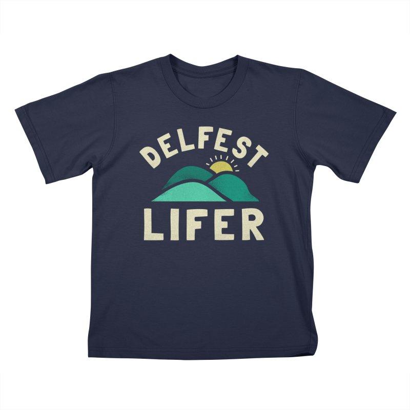 Delfest Lifer Kids T-Shirt by troublemuffin's Artist Shop