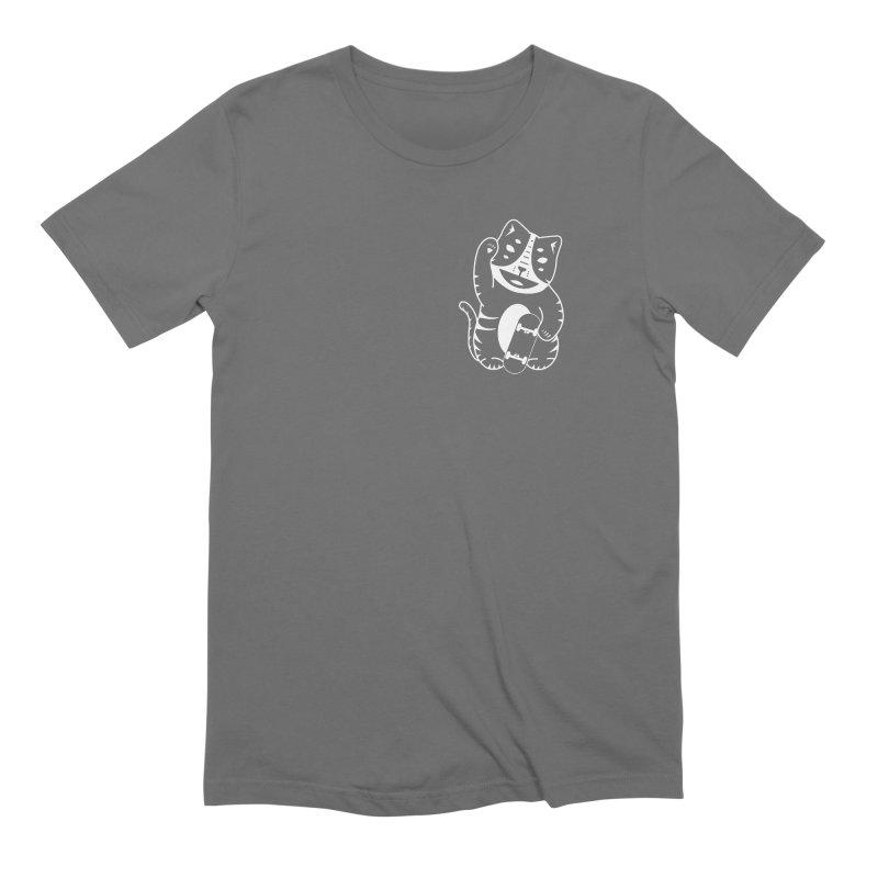 Money Cat Men's T-Shirt by troublemuffin's Artist Shop