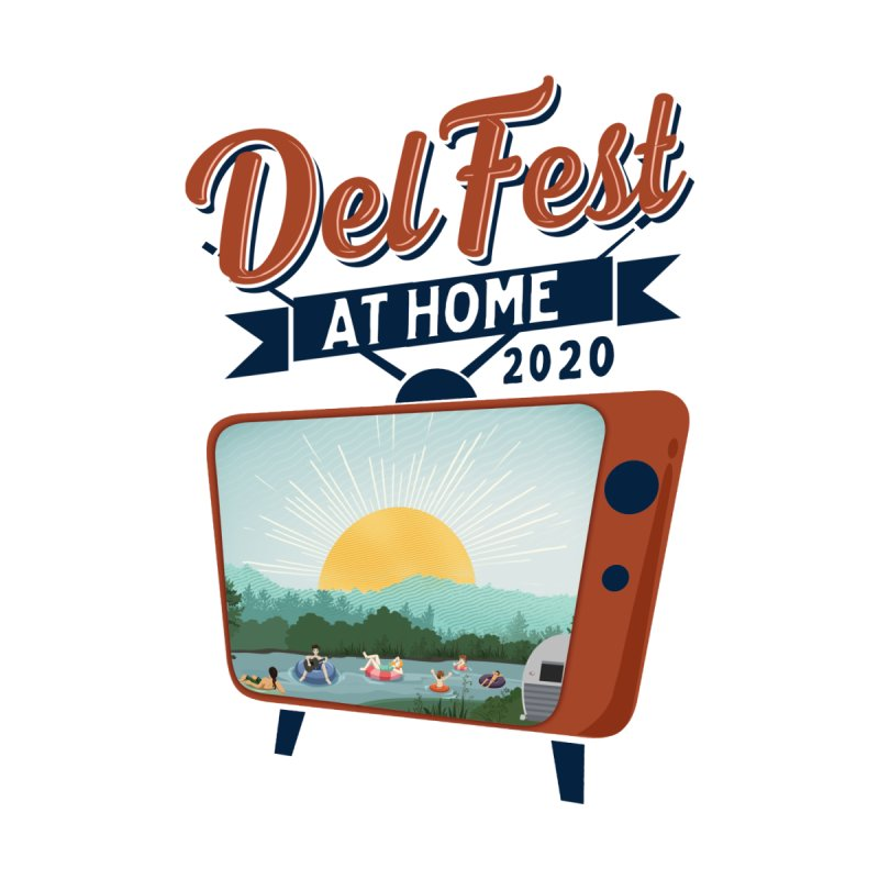 Delfest at Home Women's V-Neck by troublemuffin's Artist Shop