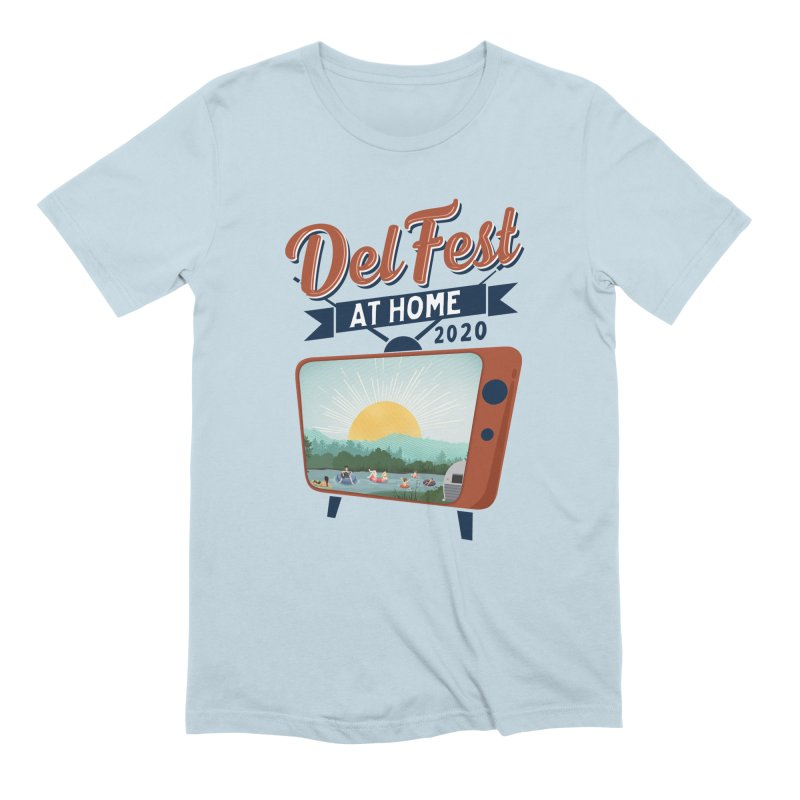 Delfest at Home Men's T-Shirt by troublemuffin's Artist Shop