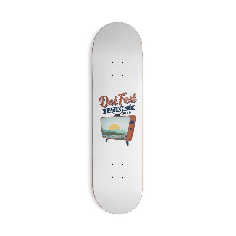 Delfest at Home Accessories Skateboard by troublemuffin's Artist Shop