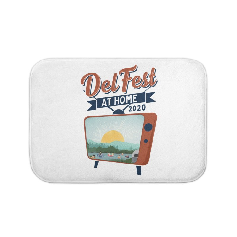 Delfest at Home Home Bath Mat by troublemuffin's Artist Shop
