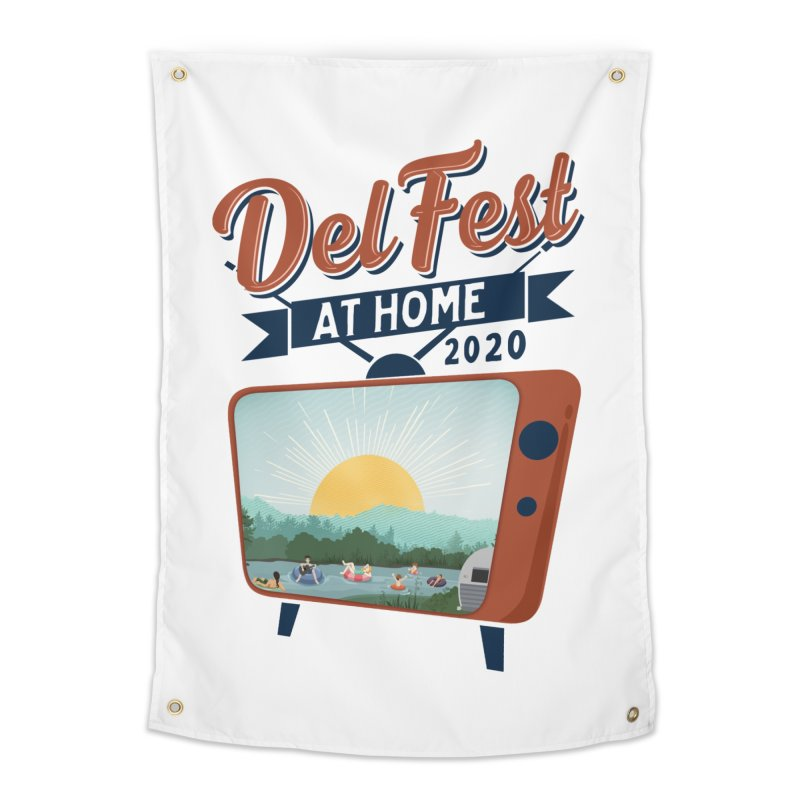 Delfest at Home Home Tapestry by troublemuffin's Artist Shop