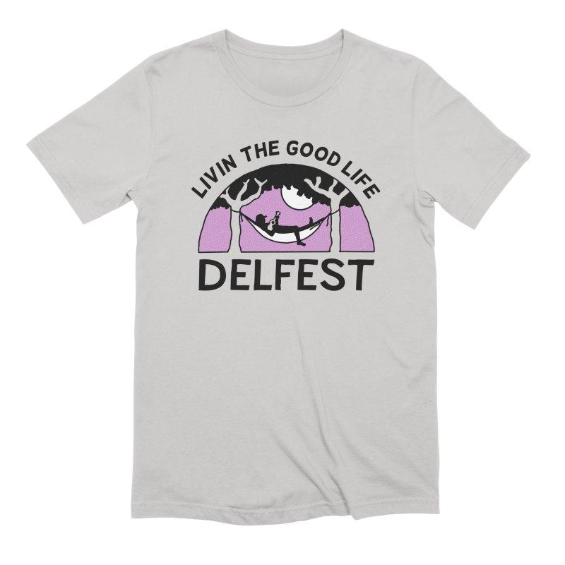 Livin' the Good Life Men's T-Shirt by troublemuffin's Artist Shop
