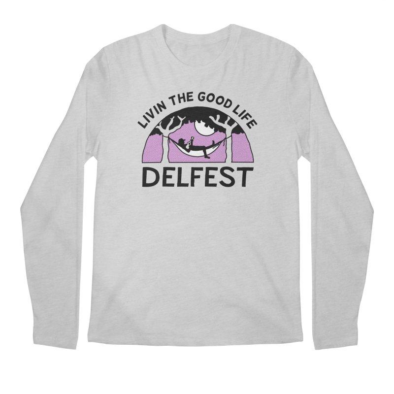Livin' the Good Life Men's Longsleeve T-Shirt by troublemuffin's Artist Shop