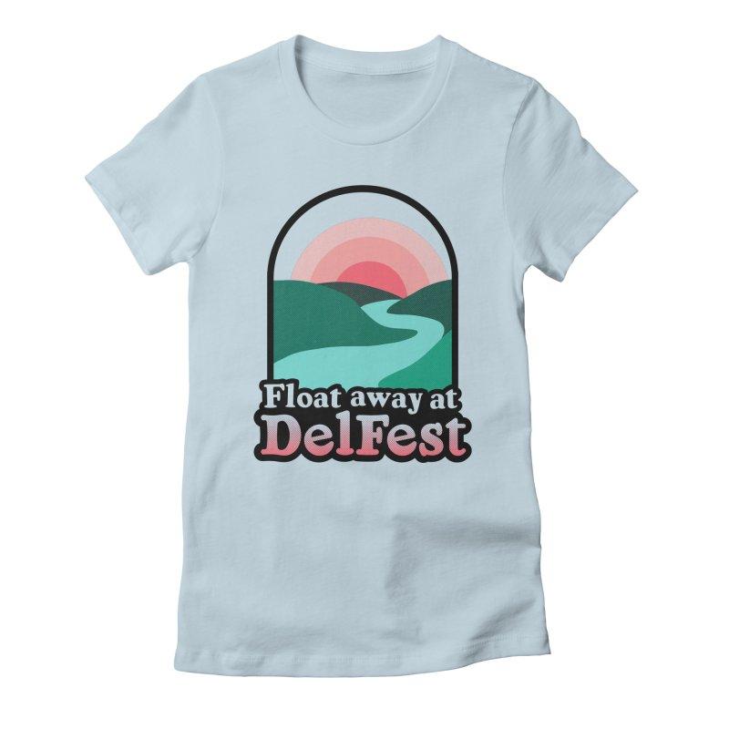 Float Away Women's T-Shirt by troublemuffin's Artist Shop