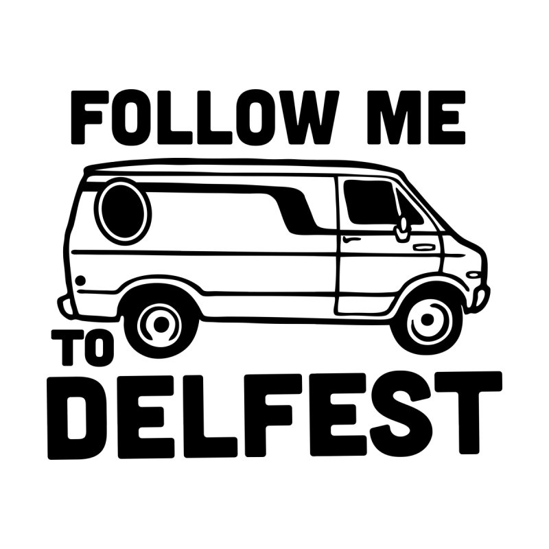 Follow Me to Delfest Men's T-Shirt by troublemuffin's Artist Shop