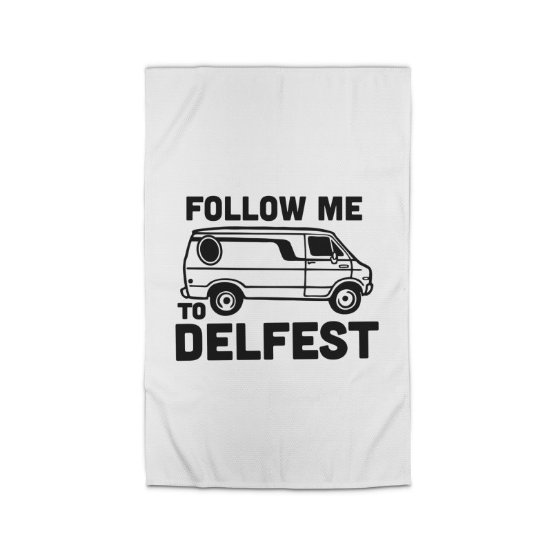 Follow Me to Delfest Home Rug by troublemuffin's Artist Shop