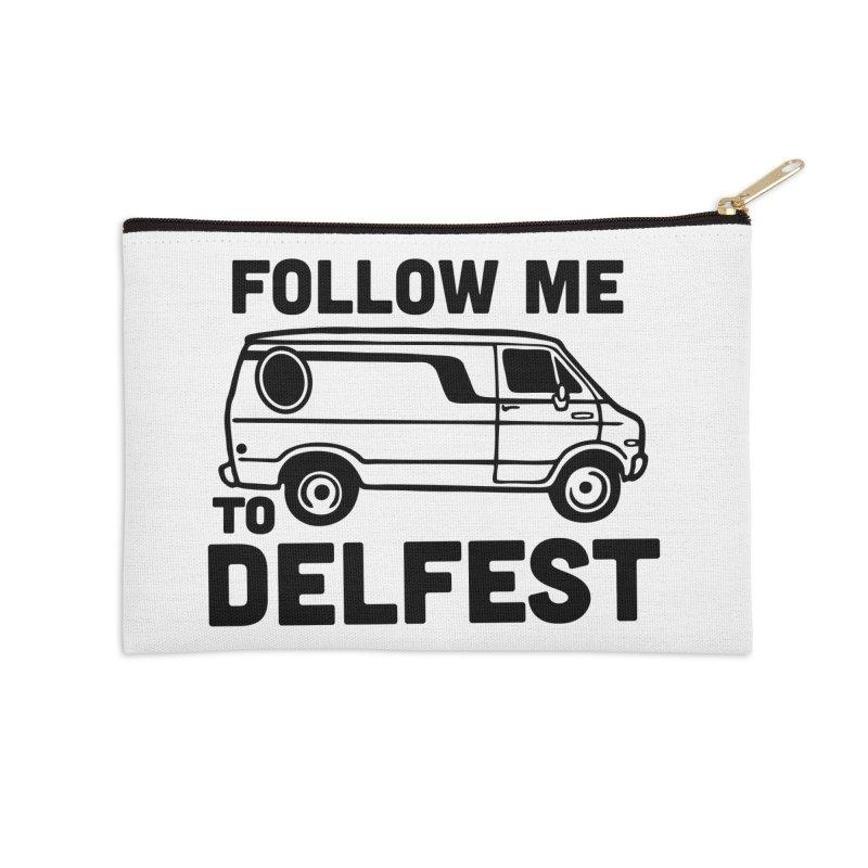 Follow Me to Delfest Accessories Zip Pouch by troublemuffin's Artist Shop