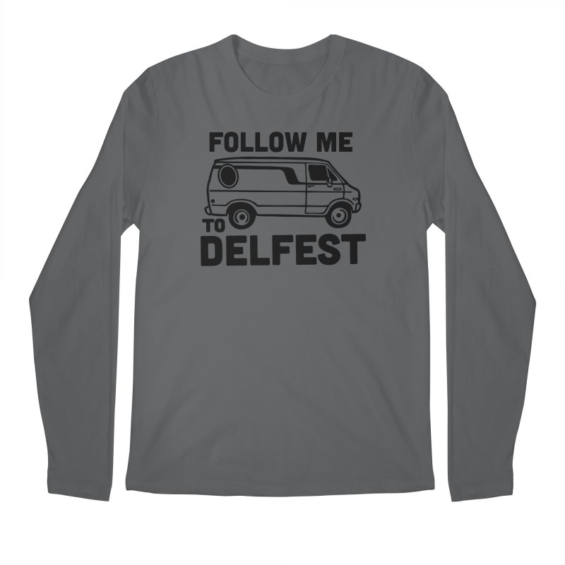 Follow Me to Delfest Men's Longsleeve T-Shirt by troublemuffin's Artist Shop