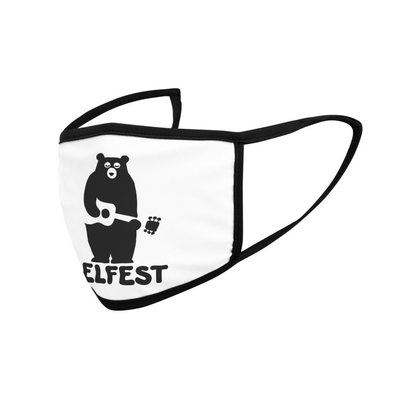 The Bear Accessories Face Mask by troublemuffin's Artist Shop