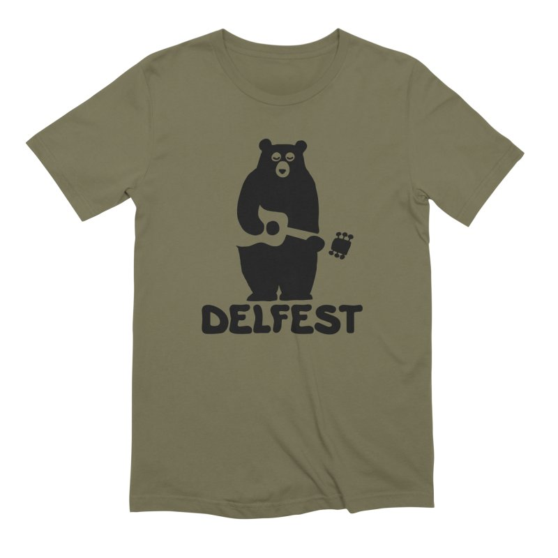 The Bear Men's T-Shirt by troublemuffin's Artist Shop