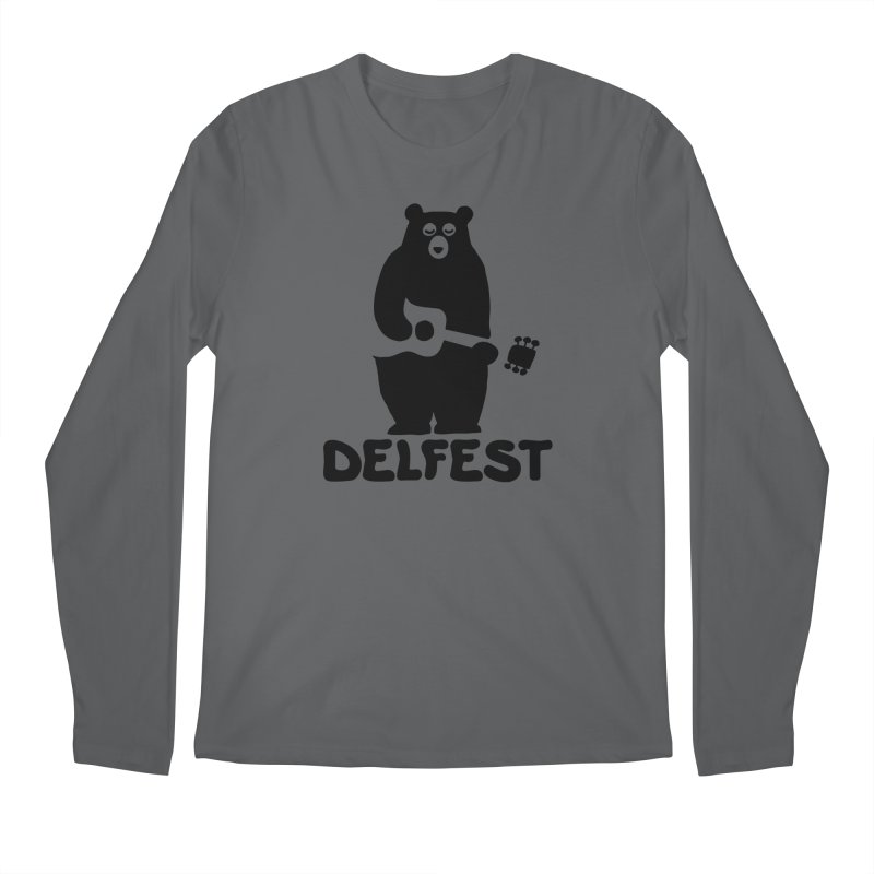 The Bear Men's Longsleeve T-Shirt by troublemuffin's Artist Shop