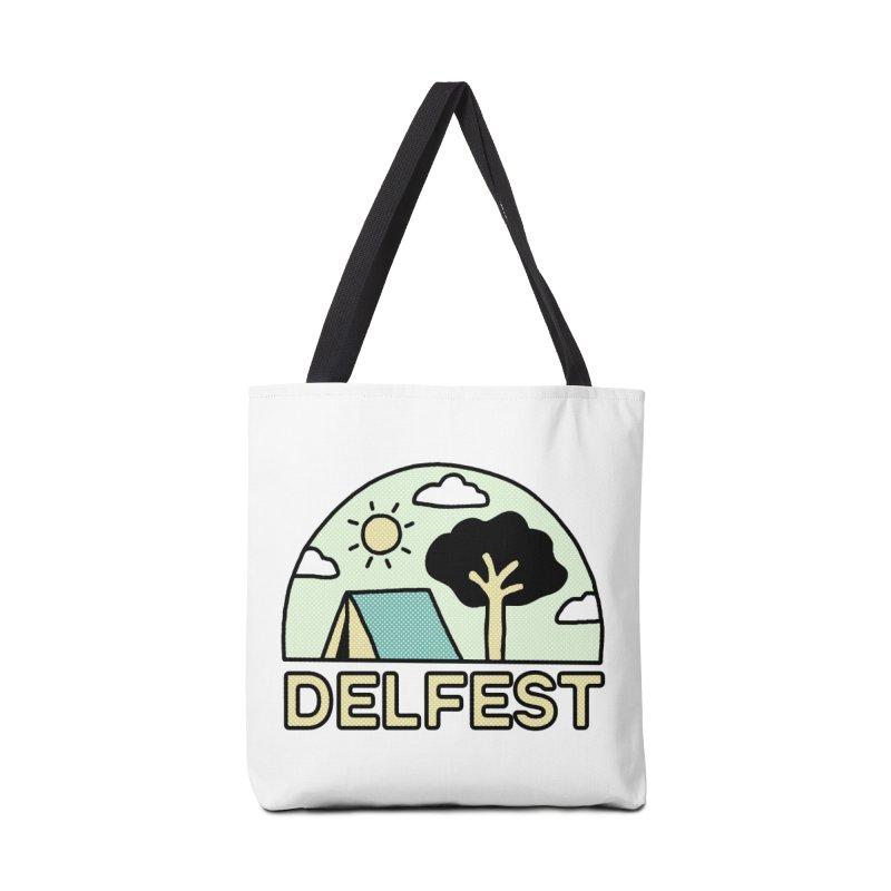 Delfest Campin' Accessories Bag by troublemuffin's Artist Shop