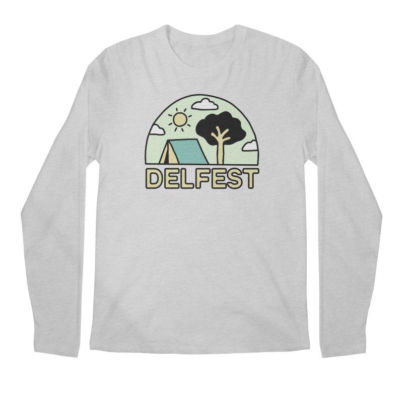 Delfest Campin' Men's Longsleeve T-Shirt by troublemuffin's Artist Shop