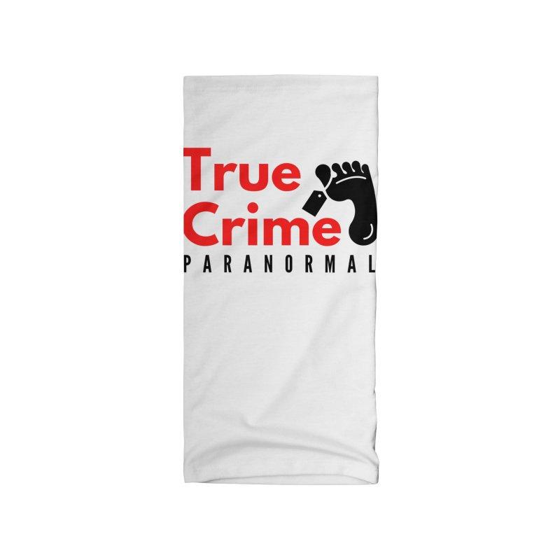 Black Toe Tag 4200x4200 Accessories Neck Gaiter by True Crime Paranormal Fan Merch
