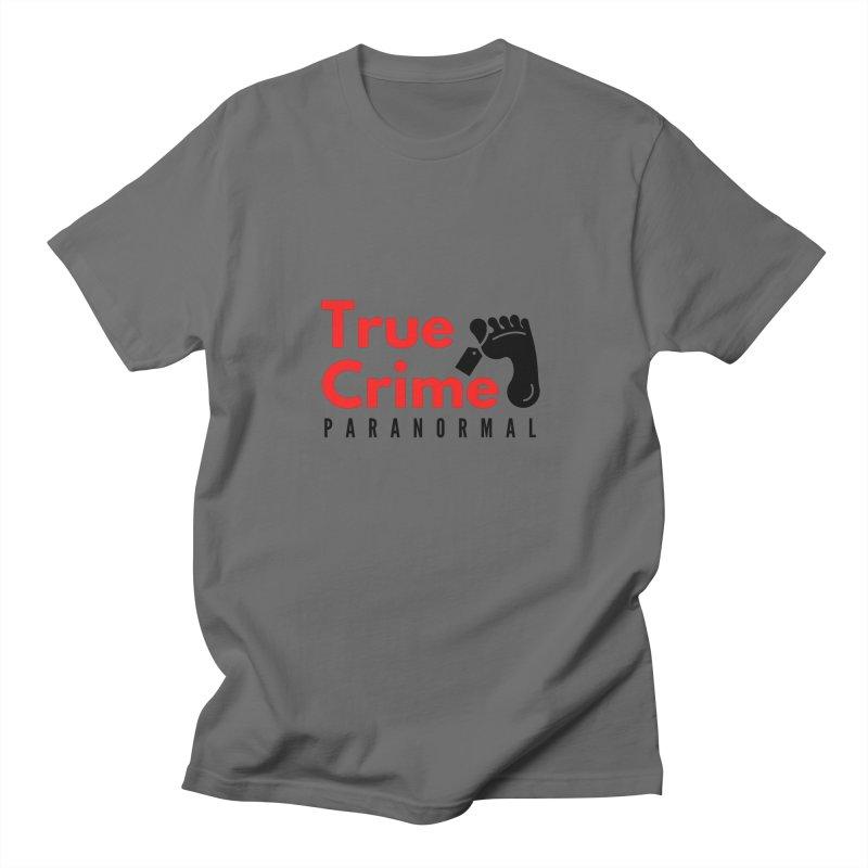 Black Toe Tag 4200x4200 Men's T-Shirt by True Crime Paranormal Fan Merch
