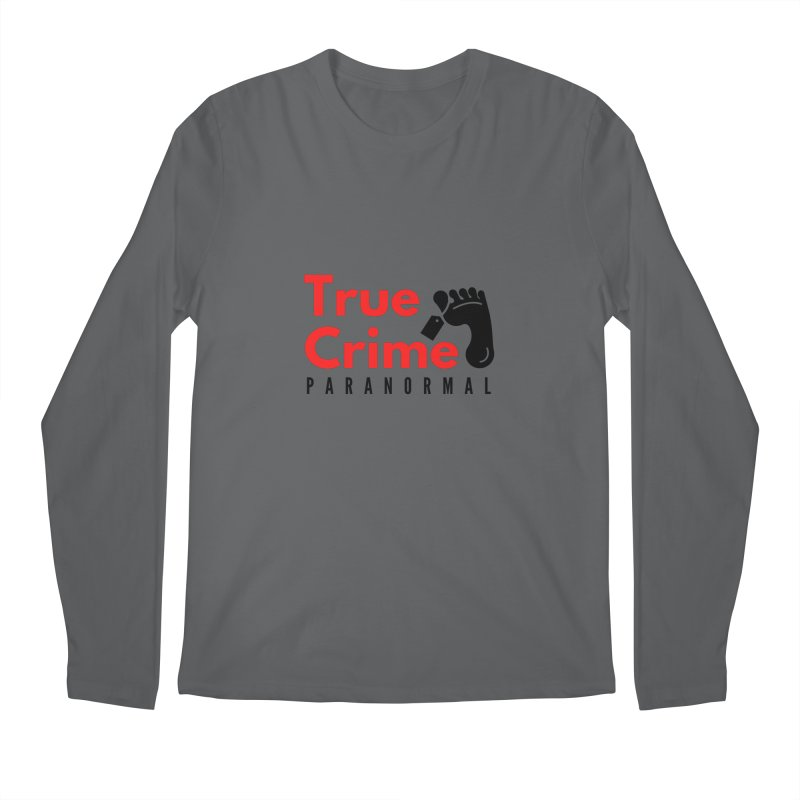 Black Toe Tag 4200x4200 Men's Longsleeve T-Shirt by True Crime Paranormal Fan Merch