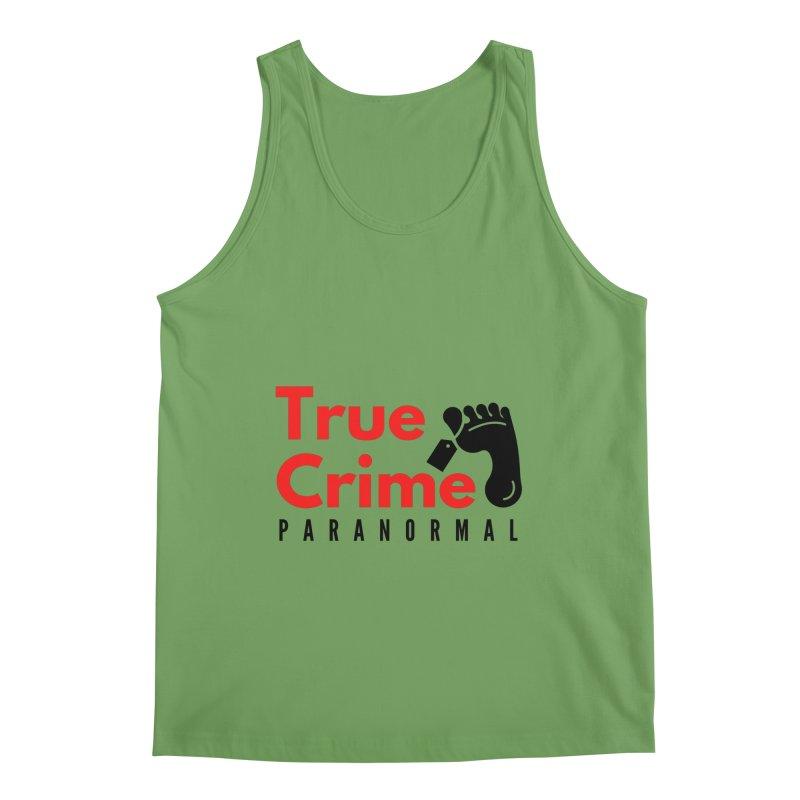 Black Toe Tag 4200x4200 Men's Tank by True Crime Paranormal Fan Merch