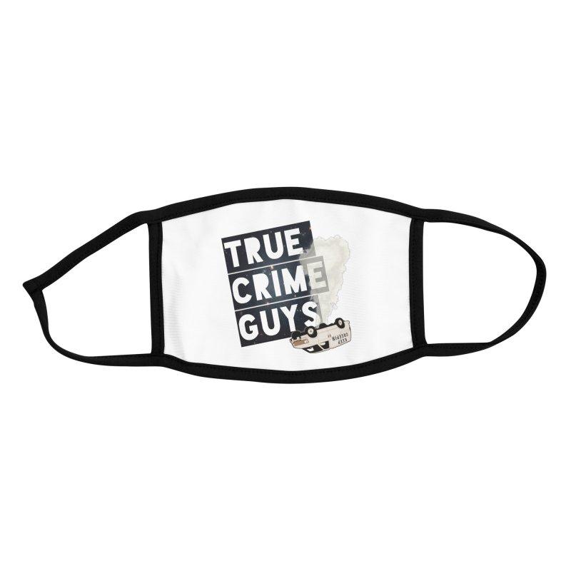 Authentic Logo Merch Accessories Face Mask by truecrimeguys's Artist Shop