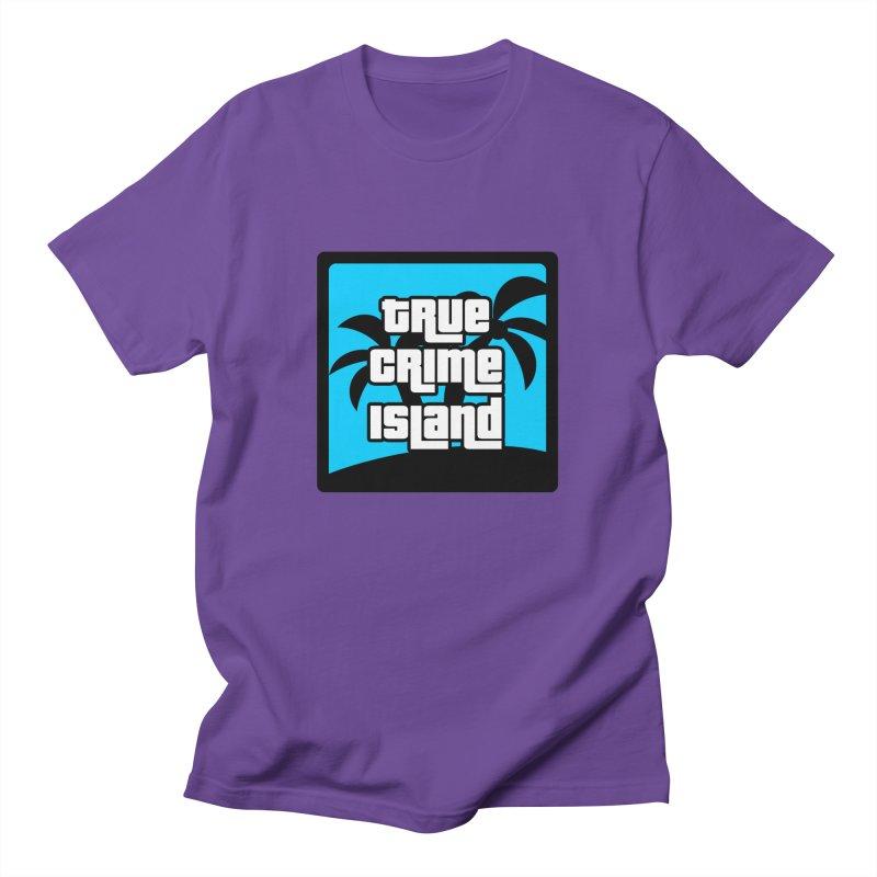 True Crime Island Logo Men's T-Shirt by True Crime Island's Artist Shop