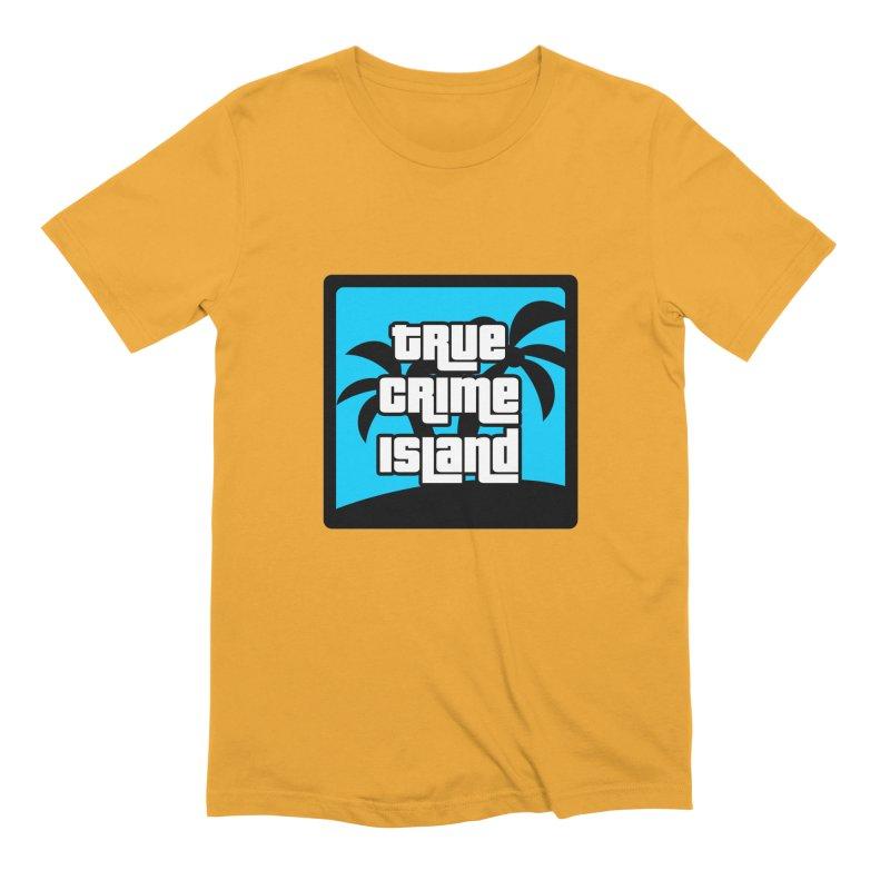 True Crime Island Logo Men's Extra Soft T-Shirt by True Crime Island's Artist Shop