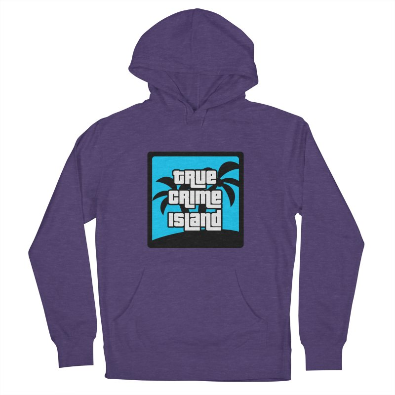 True Crime Island Logo Men's French Terry Pullover Hoody by True Crime Island's Artist Shop
