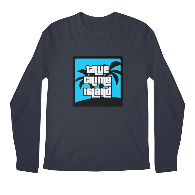True Crime Island Logo Men's Longsleeve T-Shirt by True Crime Island's Artist Shop