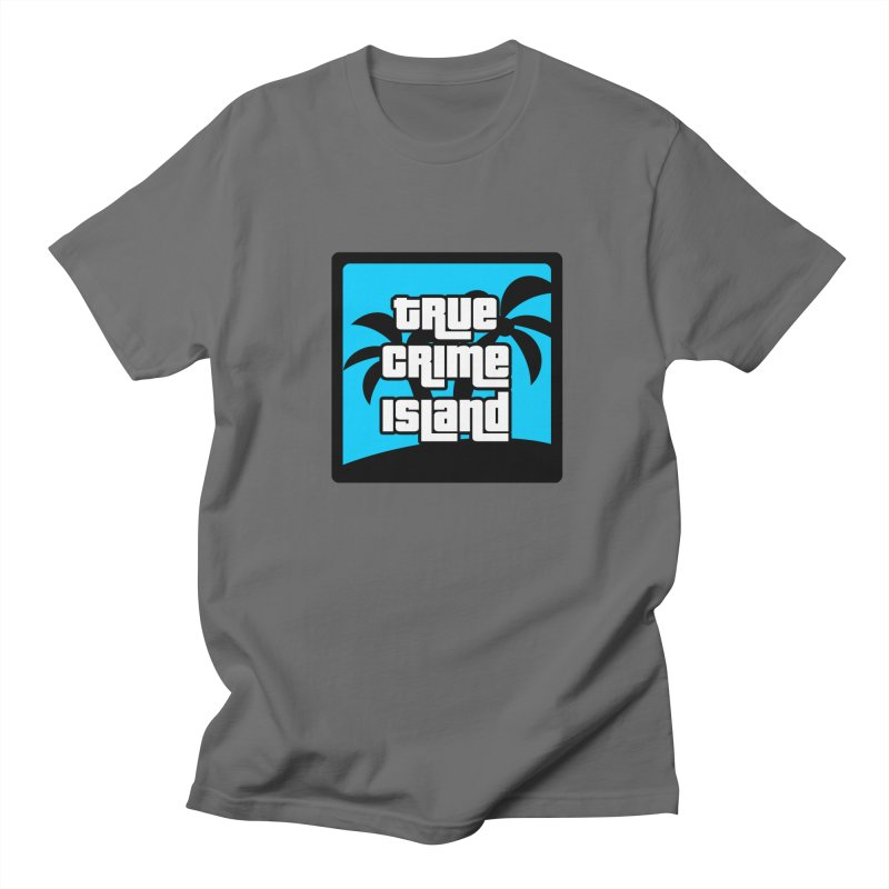 True Crime Island Logo Men's T-Shirt by True Crime Island's Artist Shop