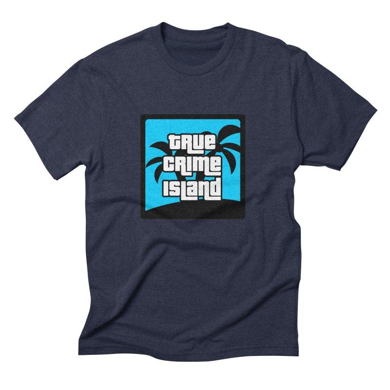 True Crime Island Logo Men's Triblend T-Shirt by True Crime Island's Artist Shop