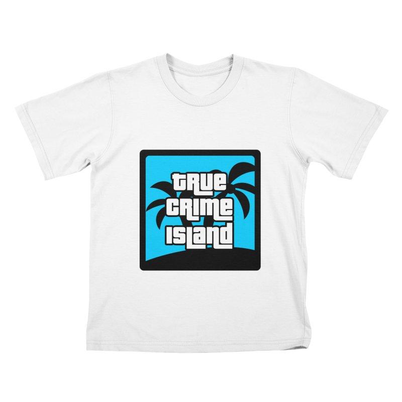 True Crime Island Logo Kids T-Shirt by True Crime Island's Artist Shop