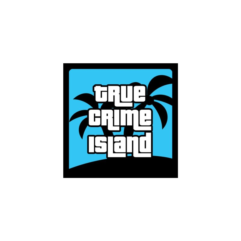 True Crime Island Coffee Accessories Sticker by True Crime Island's Artist Shop