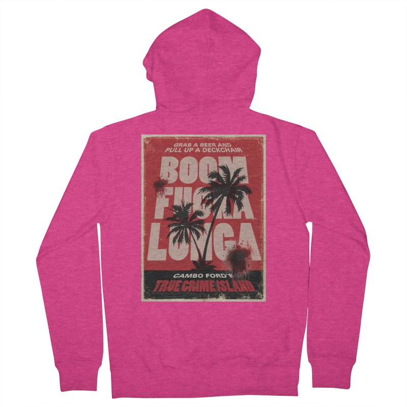 Boomf@ckalunga Swag Women's Zip-Up Hoody by True Crime Island's Artist Shop