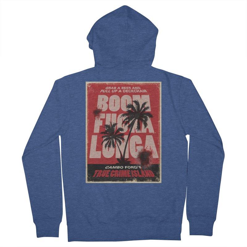 Boomf@ckalunga Swag Men's Zip-Up Hoody by True Crime Island's Artist Shop