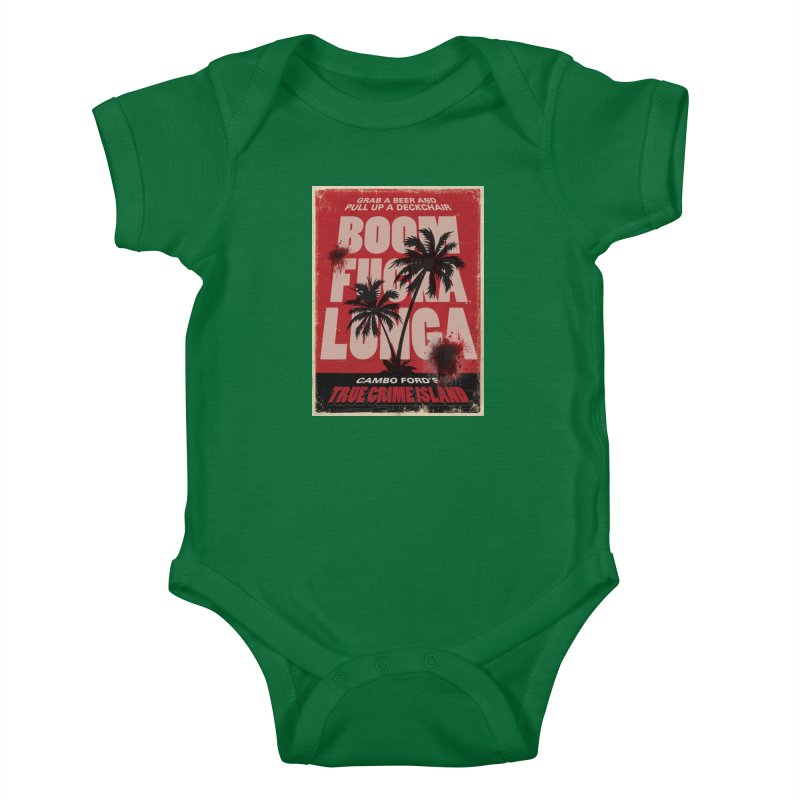 Boomf@ckalunga Swag Kids Baby Bodysuit by True Crime Island's Artist Shop