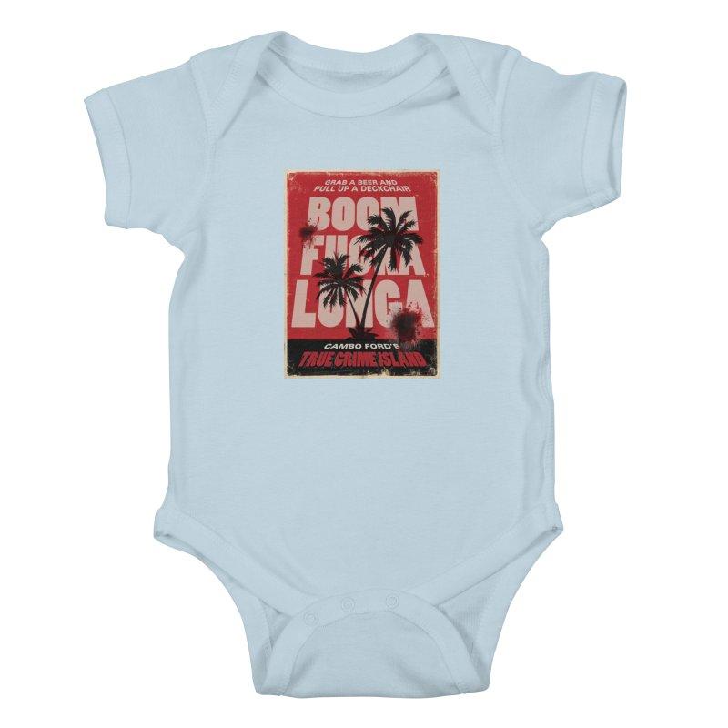 Boomf@ckalunga Swag Kids Baby Bodysuit by True Crime Island's Artist Shop