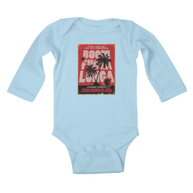 Boomf@ckalunga Swag Kids Baby Longsleeve Bodysuit by True Crime Island's Artist Shop