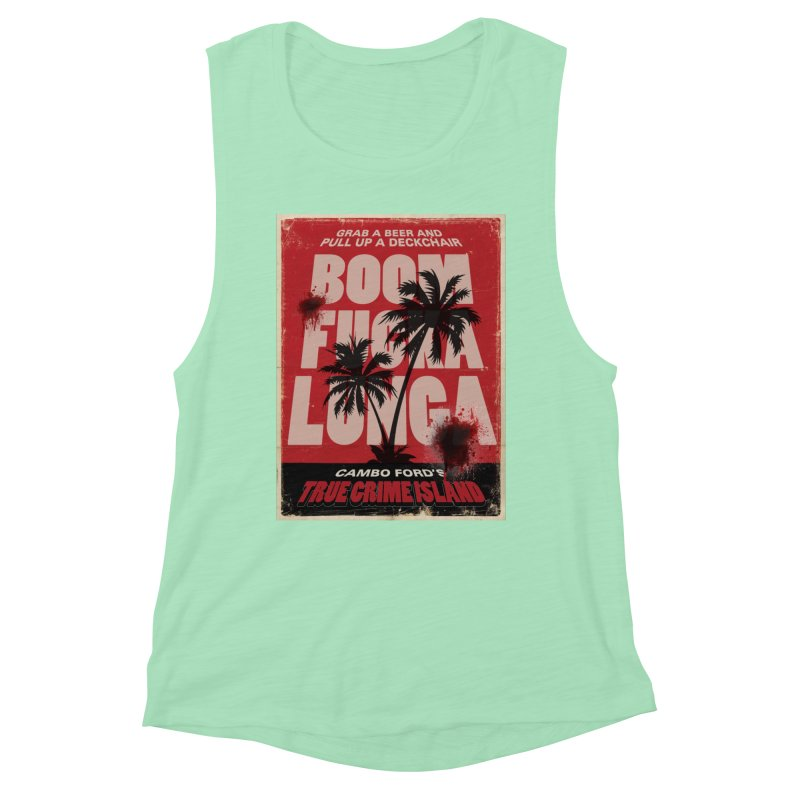 Boomf@ckalunga Swag Women's Tank by True Crime Island's Artist Shop
