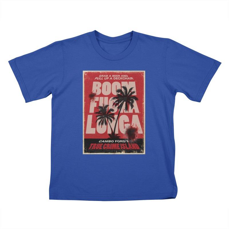 Boomf@ckalunga Swag Kids T-Shirt by True Crime Island's Artist Shop