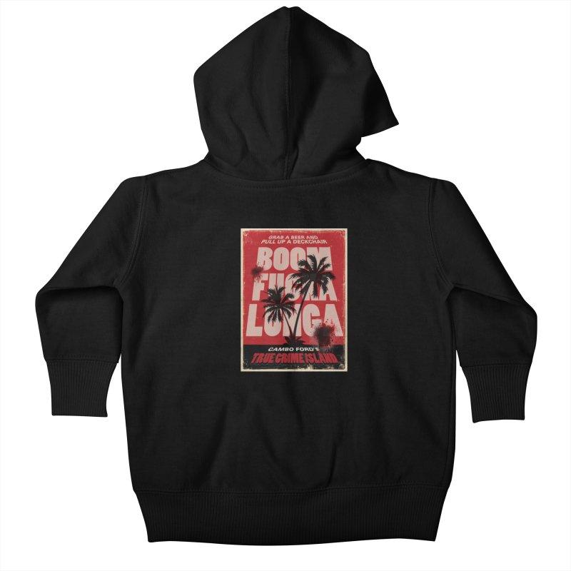 Boomf@ckalunga Swag Kids Baby Zip-Up Hoody by True Crime Island's Artist Shop