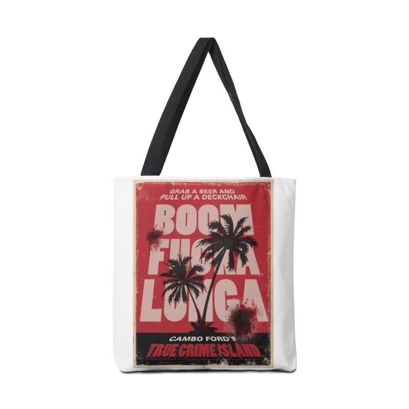 Boomf@ckalunga Swag Accessories Bag by True Crime Island's Artist Shop
