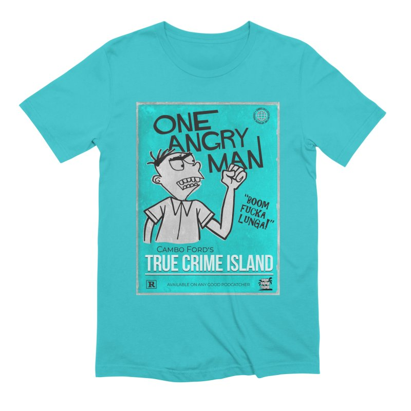 The Rage Range Men's T-Shirt by True Crime Island's Artist Shop