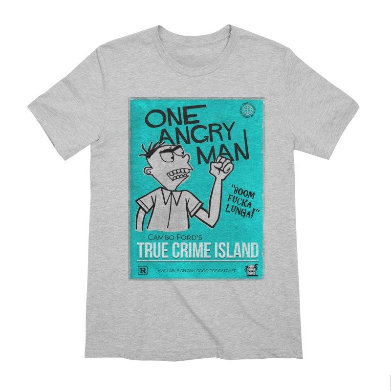 The Rage Range Men's Extra Soft T-Shirt by True Crime Island's Artist Shop