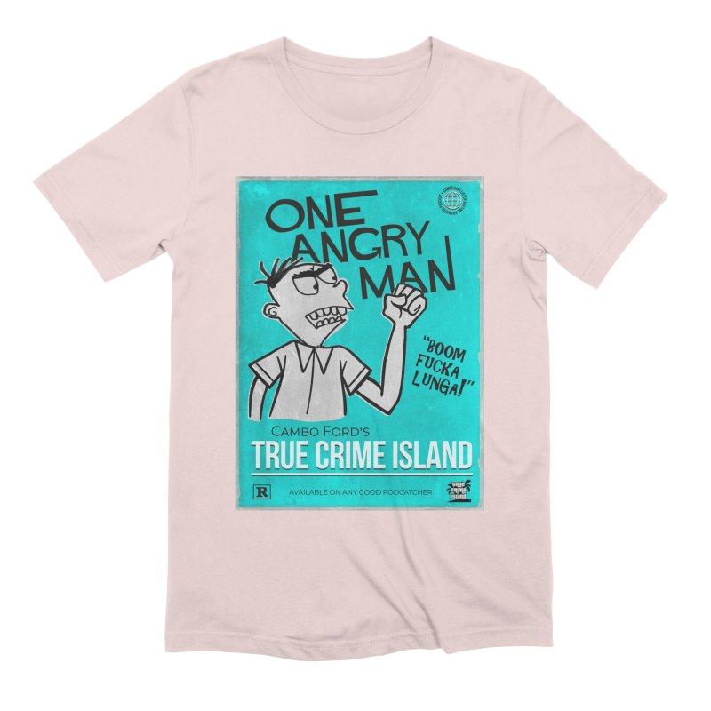 The Rage Range Men's T-Shirt by True Crime Island's Artist Shop