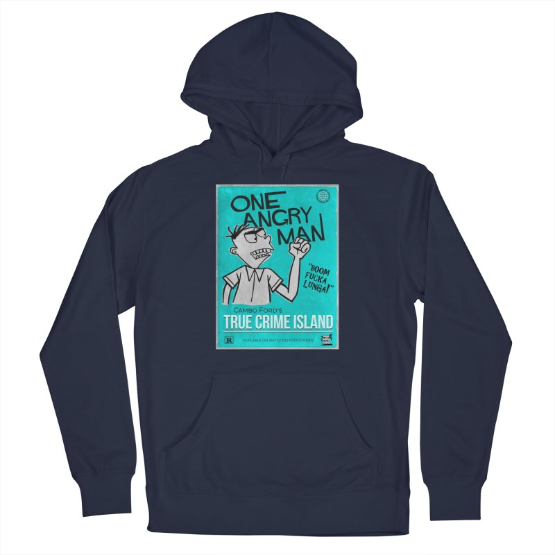 The Rage Range Men's Pullover Hoody by True Crime Island's Artist Shop