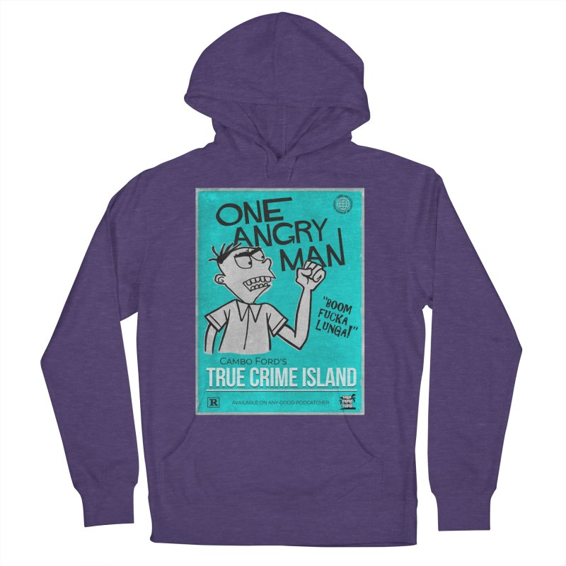 The Rage Range Women's French Terry Pullover Hoody by True Crime Island's Artist Shop