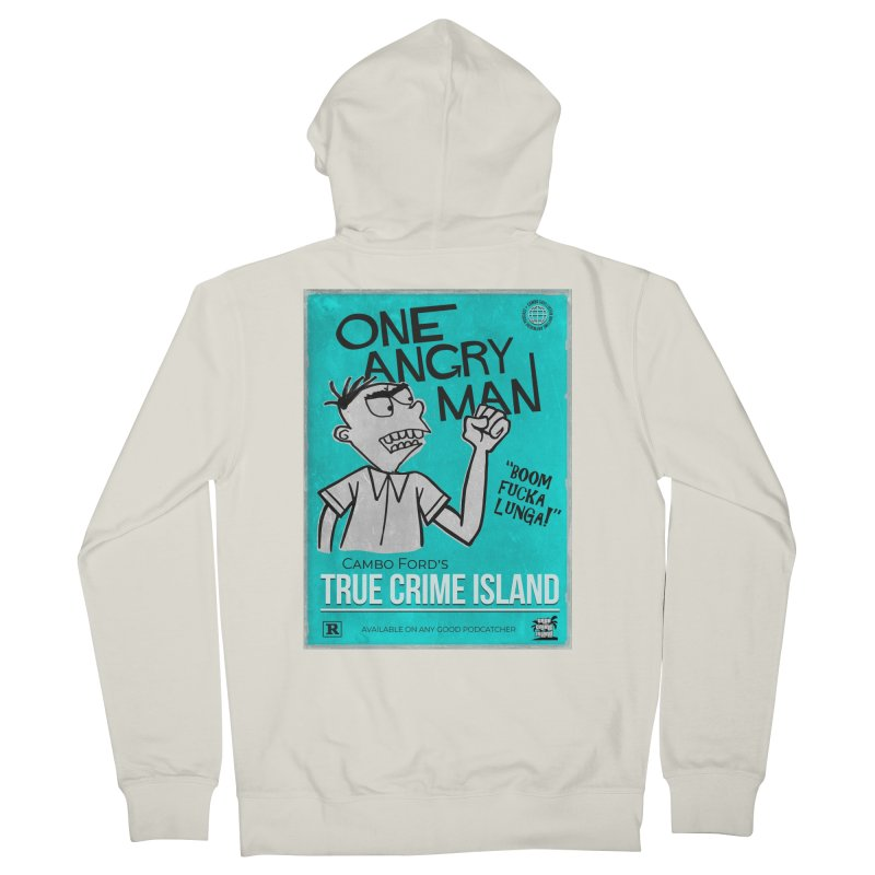 The Rage Range Women's Zip-Up Hoody by True Crime Island's Artist Shop